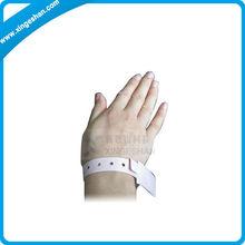 Custom Thin Hospital One Time Use Rfid Wristband,Woven Wristband