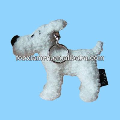 Tintin Milou Plush Tintin Snowy Plush Dog Key
