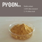 Grain Alcohol/Water 0.8% Beta sitosterol,nettle extract , 1%Silica Acid