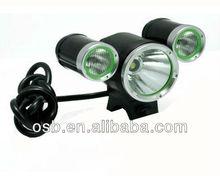 LED 3 lamp Cree 1800lumens SG-B1800 waterproof led bicycle light/head lamp