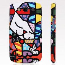 cute graffiti case pc hard case for Samsung Galaxy s3 s iii i9300