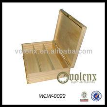 Luxury 3 Bottles Wooden Wine Presentation Box