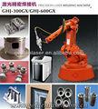 Ottone, rame, lega di alluminio, ferro, acciaio al carbonioin metallo di saldatura laser con braccio robot