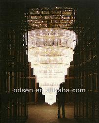 4 meters fancy ceiling lights cristal pendant lighting