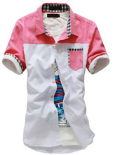 new casual design latest factory wholesale new pattern pictures of formal shirts men