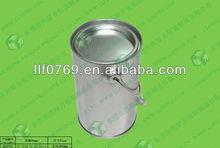 PET plastic jar with metal lid candy jars cheap