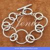 Unique design 925 silver chain bracelet H052