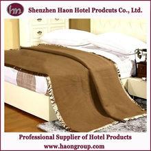 Good Qaulity Hotel Guestroom Pure Wool Blanket Wholesale