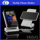 Metal phone holder USB HUB with rotatable rubber pad