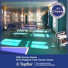 PVC Plastic Roll Table Tennis Floor Sports Flooring