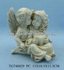 festival gift resin angel cupid figurine
