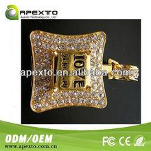 2013 Best Sell cheapest 4GB diamond jewelry star wars usb flash drive