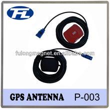 Professional bulk supply GPS car antenna,28dbi high gain gps waterproof car roof antenna connector custom