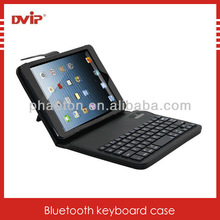 Hot sale for ipad mini bluetooth keyboard case ,bluetooth leather keyboard case for ipad mini