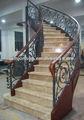 Escalones de piedra, el diseño de escaleras de interior