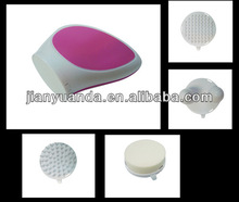 Hot selling!Plastic Electric Facial Massager vibrator &Four removed head facial message