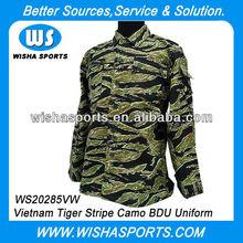 Vietnam Tiger Stripe Camo Tactical Suit Army Uniform