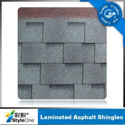 red/brown/grey /blue Laminated asphalt Roofing Shingles