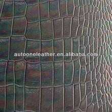 Gentle and soft crocodile skin leatherT5305