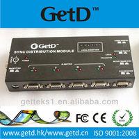 GD002 Four ports IR synchronic distribution module for digital cinema