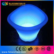 Waterproof flashing Led Ice bucket PE material night club use