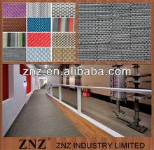 Weaving mat,Red vinyl floor tiles by ZNZ