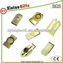 Brass customized money clip