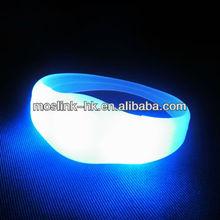 LED Flashing Silicon wristbands