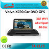high quality car radio for volvo xc90 with wifi/3G/gps/20 v-cdc/canbus/ipod on-sale!hot!