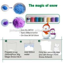 vendere magia artificiale decorazione di natale neve magico istante polvere di neve