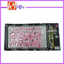 cheap rhinestone mobile phone sticker wholesale