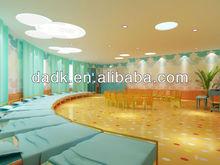 colorful soft waterproof PVC kindergarten flooring