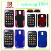 2013 hot sale Cheaper for samsung T989 hot fashion accessories net shell &silicon mobile case