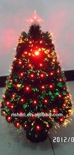 Popular fiber optic christmas tree ornaments