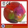 Rubber bouncy ball with LED light for children