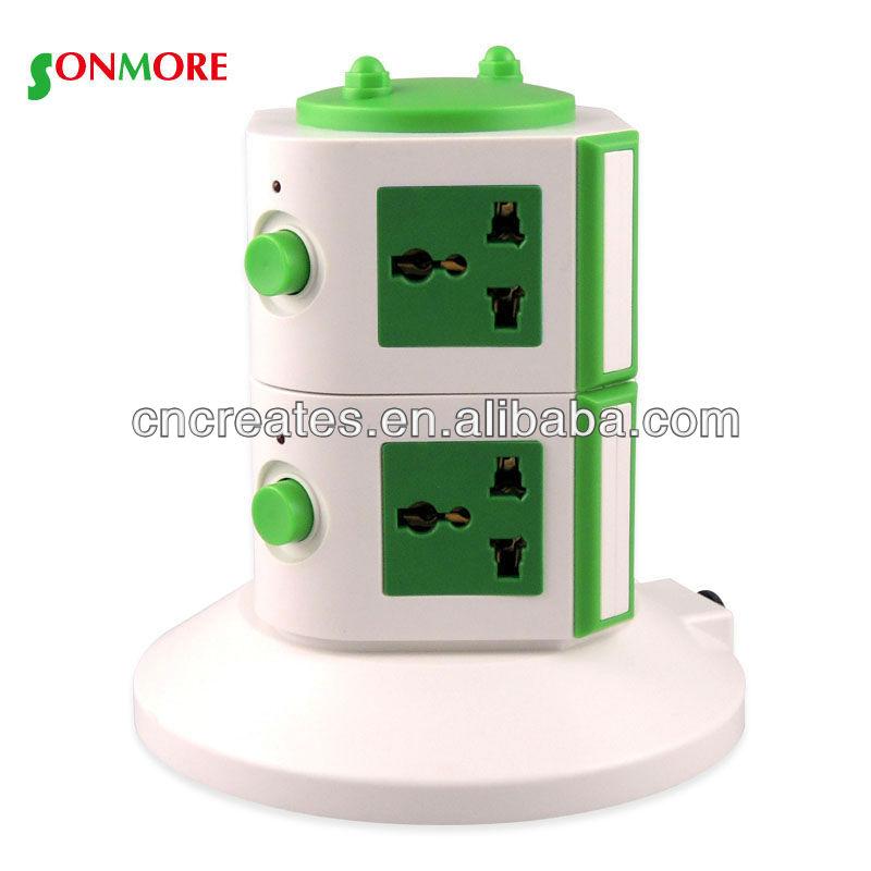 16a prise de courant électrique socket et plug électrique rallonge / prise