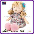 Venta al por mayor muñecos de trapo/personalizado de peluche de felpa muñeca de trapo