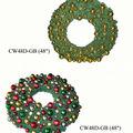 corona de navidad ornamento