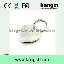 Kongst promotional gift usb flash drives,hot sales jewel usb,high quality heart shape jewel usb flash/stick/disk