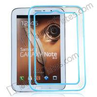 Wholesale Transparent PC+TPU Bumper Frame Case for Samsung Galaxy Tab Note 8.0 N5100 N5110