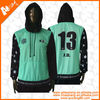 100% polyester sublimation Hooded clothing