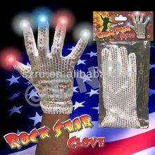 Party Supplies Glow In Dark Gloves