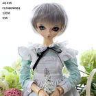 Short grey doll wig