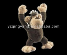hote selling cute soft stuffed toy plush toy monkey