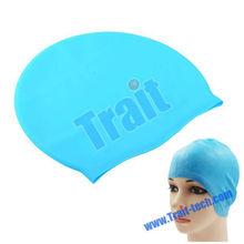 Non Toxic Non Allergenic Durable Long Life Elastic Swimming Cap Silicone