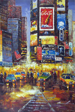 oil painting new york