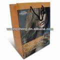 2014 quente!! Forma de papel de presente sacolas para cabeleireiro saco de papel