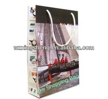2014 Wholesale!! fashion paper Gift shopping Bags for kraft flowers printing paper bag