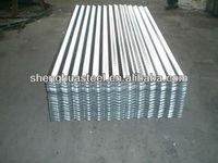Zinc galvanized corrugated steel roof tile sheet