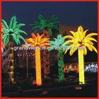 RGB Color public park Coconut Tree Holiday Light Low Votage DC 24V LED Coconut Palm Tree Light